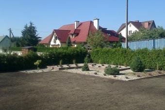 Ogród w Mławie